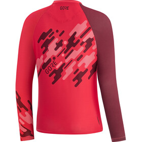 GORE WEAR C5 Trail Maillot 3/4 Femme, hibiscus pink/chestnut red